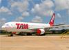 Airbus A330-223, PT-MVC, da TAM. (19/02/2016)