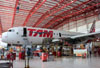 Airbus A319-132, PR-MAN, da TAM. (19/03/2014)