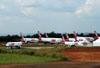 Aeronaves da TAM. (23/10/2013)