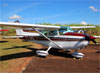 Cessna 172M Skyhawk, PT-IVC. (06/06/2015) Foto: Ricardo Rizzo Correia.