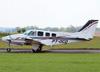 Beechcraft B58TC Baron, PT-OCD. (09/11/2013)