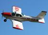 Aerotec A-122B Uirapuru, PP-KBI, do Aeroclube de Poços de Caldas, fazendo uma passagem sobre o aeroporto de Americana durante o Almoço Entre Amigos. (09/11/2013)