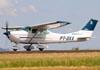 Cessna 182N Skylane, PT-DXX. (29/03/2014)