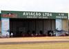 Hangar da Naves Aviação. (29/03/2014)
