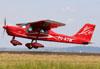 Paradise P1 LSA, PU-KTM, da Looping Escola de Aviação Leve. (29/03/2014)