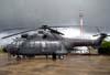 Eurocopter Cougar MK1, versão militar do AS-332 Super Puma, designado pelo Exército Brasileiro como HM-3, prefixo EB-4006. E não é que o sol apareceu? Pena que foi só por alguns instantes.