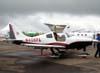 Cessna 400 (antigo Columbia 400), N408PA, representado no Brasil pela TAM (Táxi Aéreo Marília).