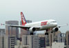 Airbus A320-214, PR-MHZ, da TAM. (07/12/2010)
