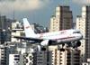 Airbus A319-132, PR-MBW, da TAM, pousando em Congonhas (São Paulo). (30/11/2010)