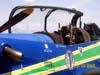 Embraer EMB-312 (T-27 Tucano) da Esquadrilha da Fumaça. Fotógrafo / Photographer: Carolina Ricardo.