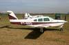 Piper/Neiva EMB-711ST Corisco II Turbo, PT-RRD. (20/06/2008) Foto: Wesley Minuano.