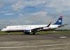 Embraer EMB-190 AR, PT-SFE, da US Airways. (21/06/2008) Foto: Ricardo Rizzo Correia.