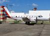 Embraer EMB-110B1 Bandeirante, PP-FFV, do INPE (Instituto Nacional de Pesquisas Espaciais). (26/05/2012) Foto: Ricardo Rizzo Correia.