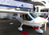 Flight Design/Just Fly CTLS, PU-RIB. (26/05/2012) Foto: Ricardo Rizzo Correia.