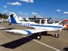 Piper PA-38-112 Tomahawk, PT-LFE, do Aeroclube de São José dos Campos. (13/07/2013)