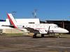 Embraer EMB-110B1 Bandeirante, PP-FFV, do INPE (Instituto Nacional de Pesquisas Espaciais). (13/07/2013)