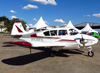 Piper PA-23-160 Apache, PT-DCG, do Aeroclube de São José dos Campos. (13/07/2013)