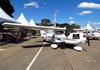 Cessna 172S Skyhawk, PR-HAR, da Harpia Flight Academy. (13/07/2013)