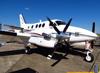 Beechcraft/Raytheon King Air C90A, PT-XOU. (13/07/2013)