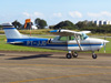 Cessna 172M Skyhawk, PT-JJD, do Aeroclube de Piracicaba. (13/07/2013)