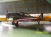 Noth American T-6, preservado pela AFA.