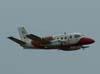 Passagem rasante do Embraer EMB-110 Bandeirante, EC-95C, FAB 2331, do GEIV, Grupo Especial de Inspeção em Vôo.