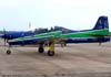 Embraer T-27 Tucano, FAB 1329, aeronave número 2 da Esquadrilha da Fumaça.