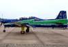 Embraer T-27 Tucano, FAB 1308, aeronave número 1 da Esquadrilha da Fumaça.
