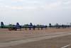Aeronaves Embraer T-27 Tucano da Esquadrilha da Fumaça.