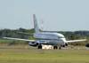 Corrida para decolagem do Boeing737-2N3 Advanced, VC-96, FAB 2116, da Força Aérea Brasileira.