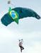 Paraquedista do Circo Aéreo. (12/05/2012)
