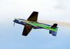 T-27 Tucano da Esquadrilha da Fumaça realizando um giro de 360° invertido. Foto: Carlos Patrício.