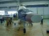 Célula do caça Northrop F-5 no PAMA, no Campo de Marte, em São Paulo.