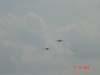 Dois caças A-1 AMX, da FAB.