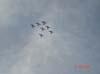 T-27 Tucanos, da Esquadrilha da Fumaça, em formação diamante.