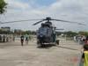 Helicóptero Super Puma do Exército Brasileiro.