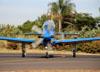 Embraer EMB-314 Super Tucano (A-29B), FAB 5963, da Esquadrilha da Fumaça (EDA - Esquadrão de Demonstração Aérea) da FAB (Força Aérea Brasileira). (13/05/2018)