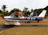 Cessna 150M, PR-NTS, do Aeroclube de São José do Rio Pardo. (13/05/2018)