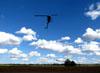 Robinson R44. (18/08/2012) Foto: Ricardo Rizzo Correia