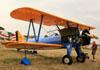 Boeing A75N1 Kaydet (PT-17), N9856H. (24/07/2012) Foto: Celia Passerani.