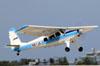Helio H-295, N61JA, da JAARS. (25/07/2012) Foto: Celia Passerani.