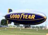 "Goodyear GZ-20A, N3A (Chamado ""Spirit of Goodyear""), da Goodyear. (26/07/2012) Foto: Celia Passerani."