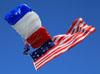 Paraquedista do Liberty Parachute Team. (26/07/2012) Foto: Celia Passerani.