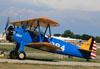 Boeing A75N1 Kaydet (PT-17), N725FR. (26/07/2012) Foto: Celia Passerani.