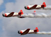 North American T-6 do Aeroshell Aerobatic Team. (27/07/2012) Foto: Celia Passerani.
