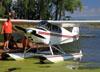 Piper PA-12 Super Cruiser, CF-VMC. (28/07/2012) Foto: Celia Passerani.