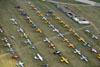 Aviões estacionados. (31/07/2013) Foto: Celia Passerani.