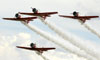 North American T-6 Texan do Aeroshell Aerobatic Team. (02/08/2013) Foto: Celia Passerani.