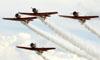 North American T-6 Texan do Aeroshell Aerobatic Team. (02/08/2013) Foto: Celia Passerani.