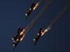North American T-6 Texan do Aeroshell Aerobatic Team. (31/07/2013) Foto: Celia Passerani.